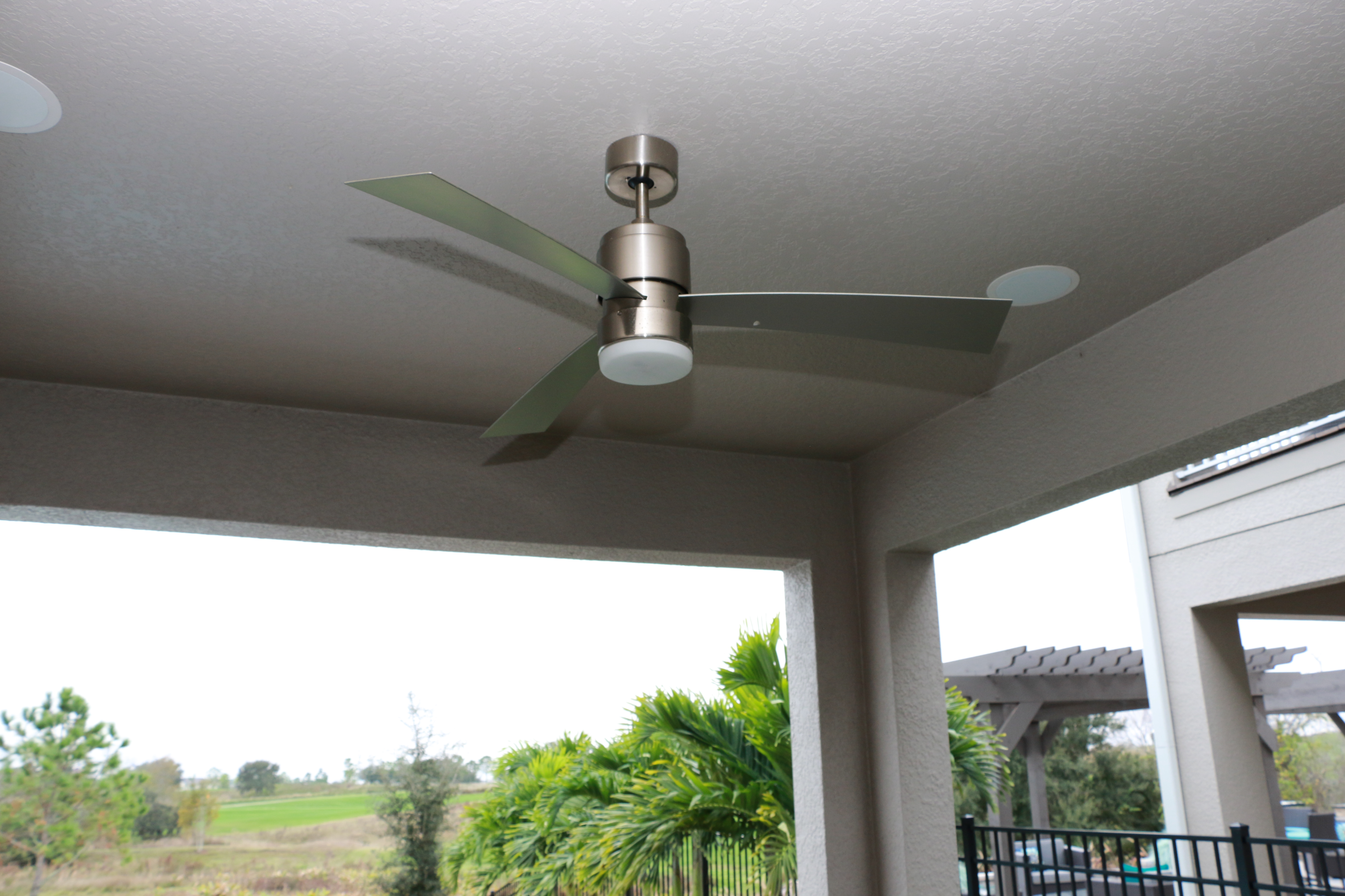 Orlando electric top 3 reasons to install ceiling fans for homeowners living in central florida cool air is a year round must have with the hot tropical climate home ac units have to work extra hard to keep aloadofball Choice Image
